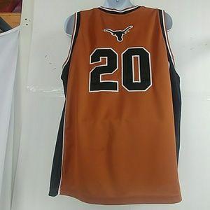 cheaper 73441 2fdf0 Texas Longhorn Basketball Jersey